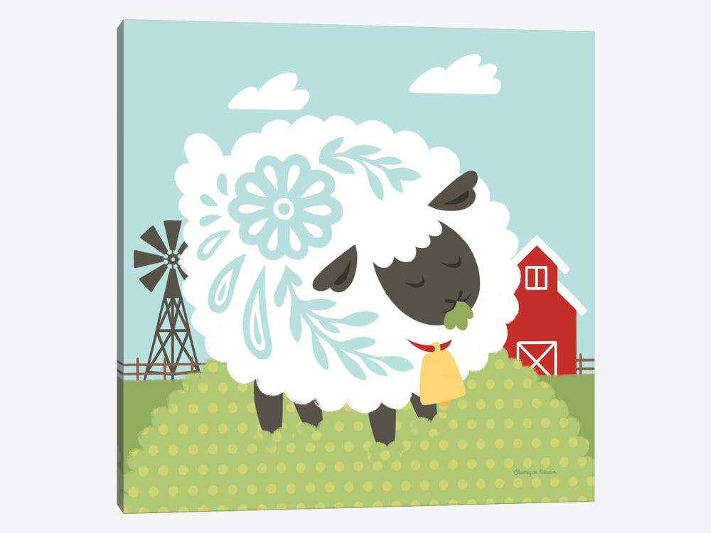 Little Farm I by Cleonique Hilsaca 1-piece Canvas Art