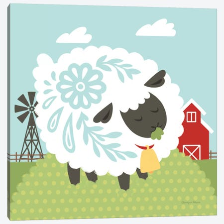 Little Farm I Canvas Print #WAC6928} by Cleonique Hilsaca Art Print