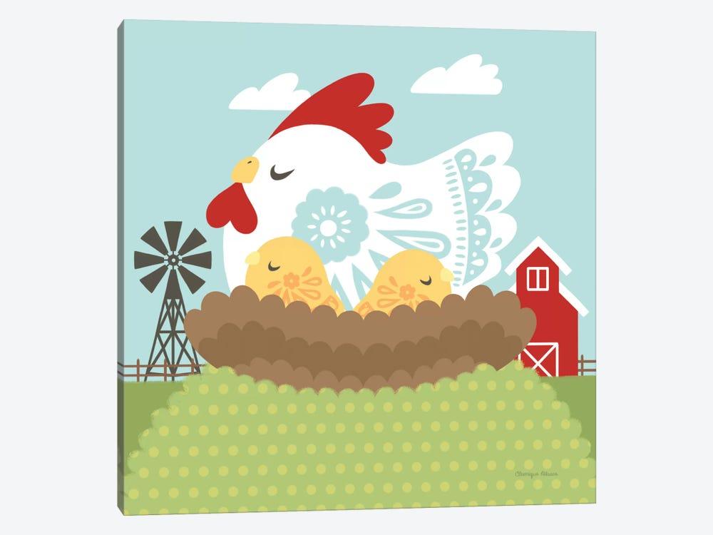 Little Farm II by Cleonique Hilsaca 1-piece Canvas Art Print
