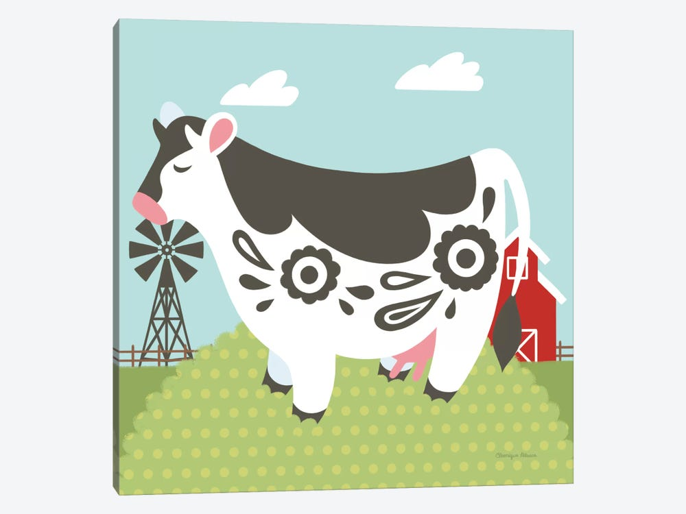 Little Farm IV by Cleonique Hilsaca 1-piece Canvas Art