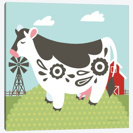 Little Farm IV Canvas Print #WAC6931} by Cleonique Hilsaca Canvas Art