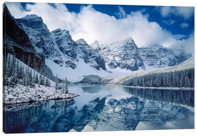 Moraine Lake Canvas Art Print