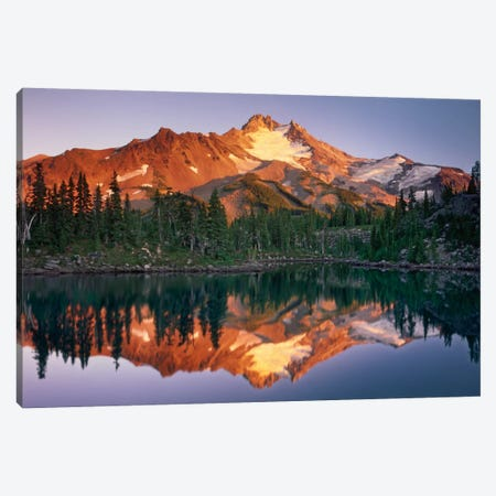 Mount Jefferson Canvas Print #WAC6941} by Alan Majchrowicz Art Print