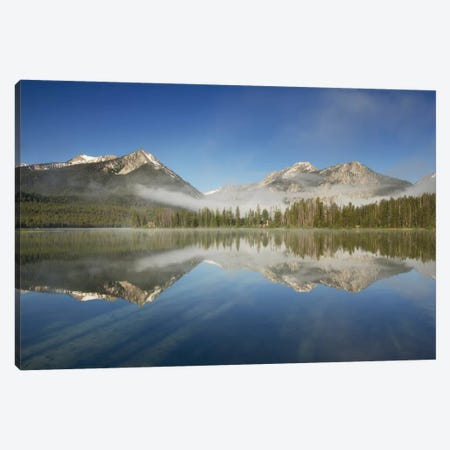 Petit Lake Reflection Canvas Print #WAC6942} by Alan Majchrowicz Canvas Print