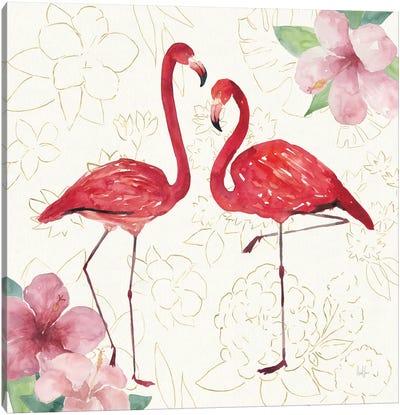 Tropical Fun Bird IV Canvas Art Print