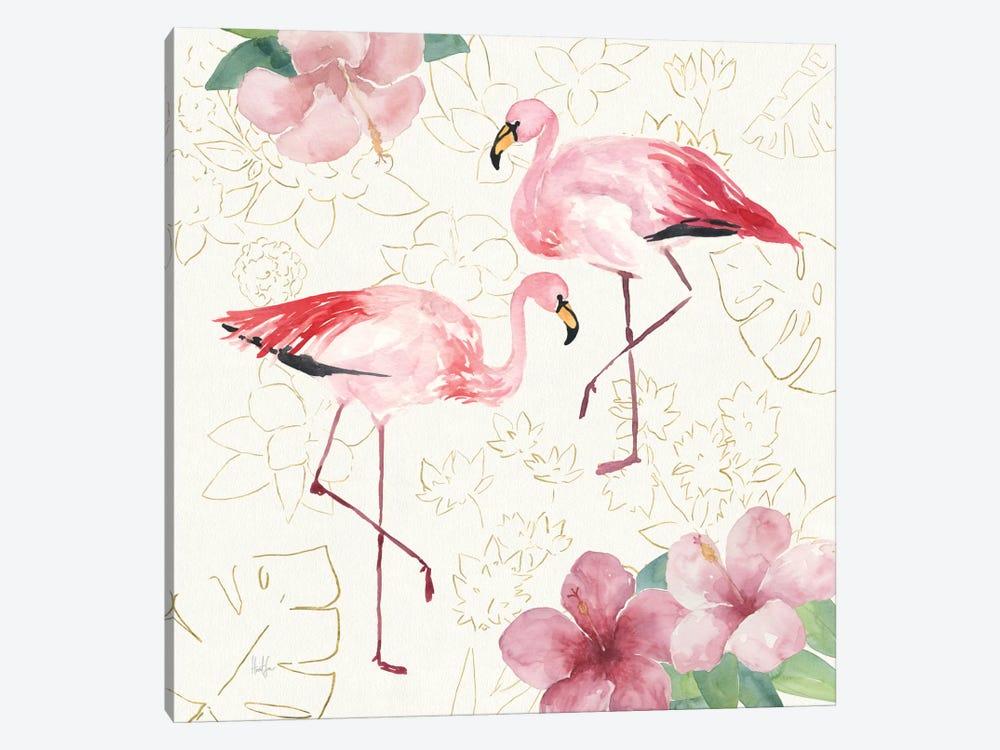 Tropical Fun Bird V by Harriet Sussman 1-piece Canvas Print