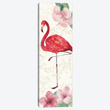 Tropical Fun Bird VII Canvas Print #WAC6949} by Harriet Sussman Art Print