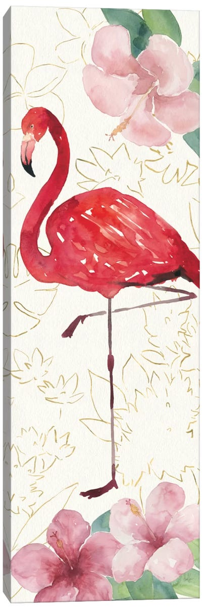 Tropical Fun Bird VII Canvas Art Print
