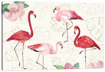 Tropical Fun Bird VIII Canvas Art Print