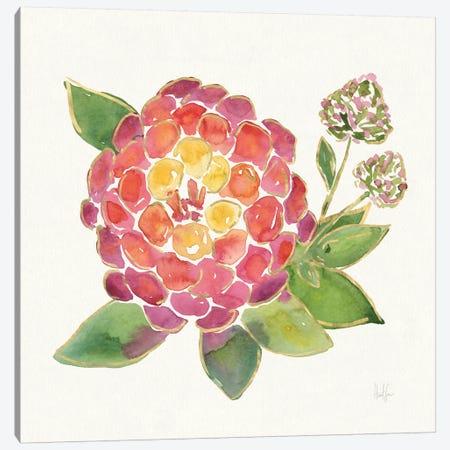 Tropical Fun Flowers II Canvas Print #WAC6952} by Harriet Sussman Canvas Artwork