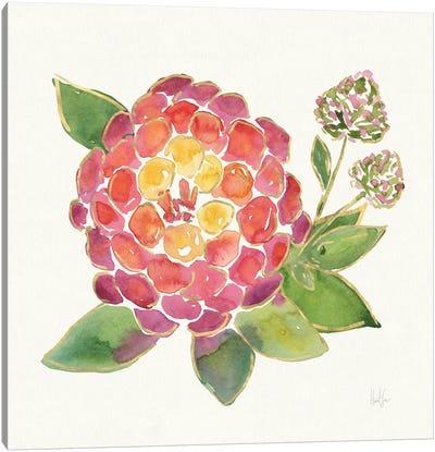 Tropical Fun Flowers II Canvas Art Print