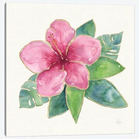 Tropical Fun Flowers III Canvas Print #WAC6953} by Harriet Sussman Canvas Artwork