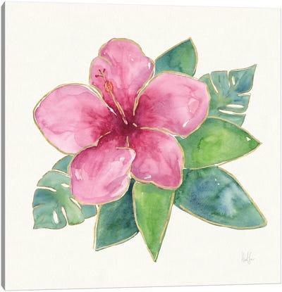 Tropical Fun Flowers III Canvas Art Print