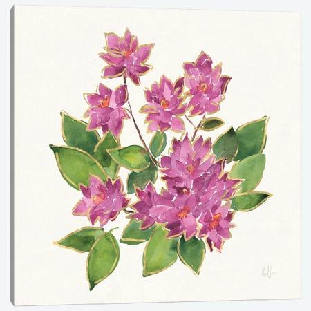 Tropical Fun Flowers IV Canvas Print #WAC6954} by Harriet Sussman Canvas Art Print