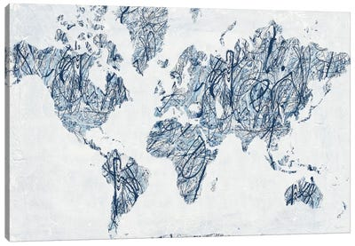 World On A String Canvas Art Print