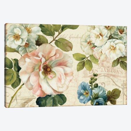 Les Jardin I Canvas Print #WAC697} by Lisa Audit Canvas Artwork
