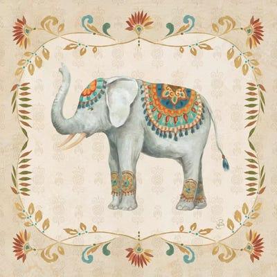 Elephant Walk III Art Print by Daphne Brissonnet   iCanvas