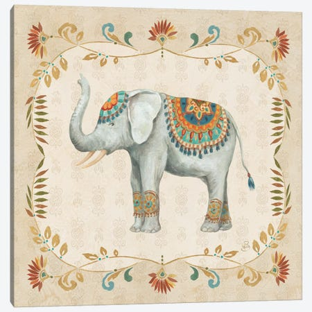 Elephant Walk III Canvas Print #WAC6981} by Daphne Brissonnet Canvas Art Print