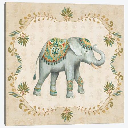 Elephant Walk IV Canvas Print #WAC6982} by Daphne Brissonnet Canvas Art Print