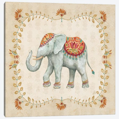 Elephant Walk V Canvas Print #WAC6983} by Daphne Brissonnet Canvas Art Print