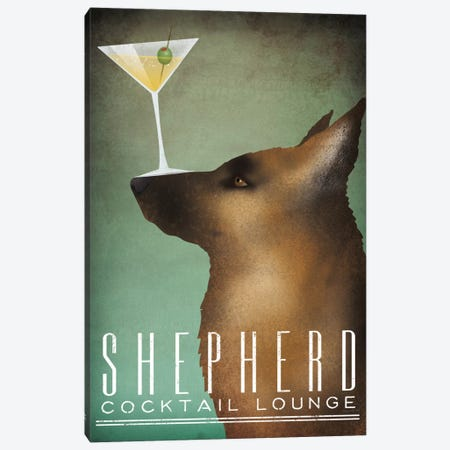 Shepherd Cocktail Lounge Canvas Print #WAC6987} by Ryan Fowler Canvas Art