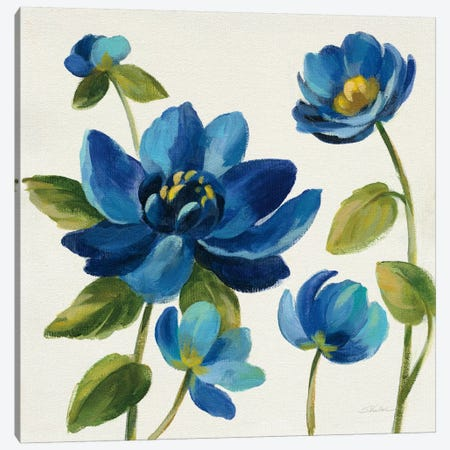 Seaside Garden I Canvas Print #WAC6992} by Silvia Vassileva Canvas Artwork