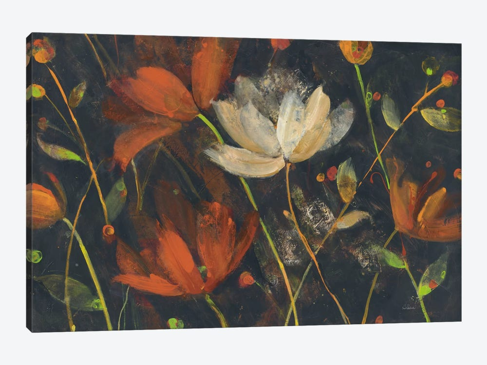 Moonlight Garden I by Albena Hristova 1-piece Canvas Wall Art