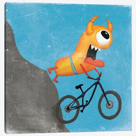 Xtreme Monsters I Canvas Print #WAC7027} by Sarah Adams Canvas Wall Art