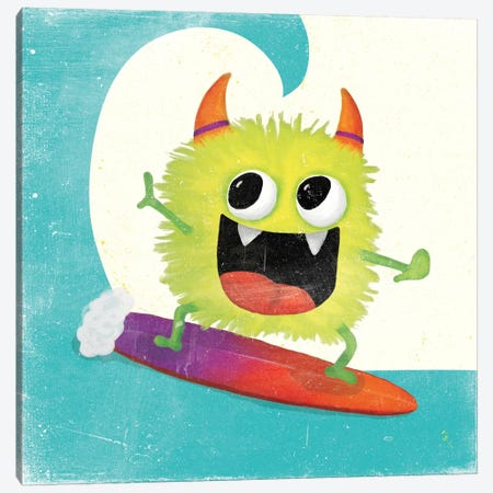 Xtreme Monsters III 3-Piece Canvas #WAC7029} by Sarah Adams Art Print