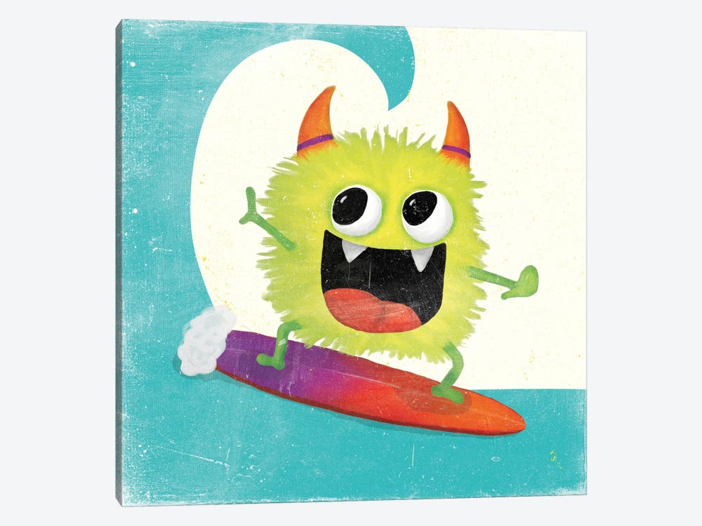Xtreme Monsters III by Sarah Adams 1-piece Canvas Art Print