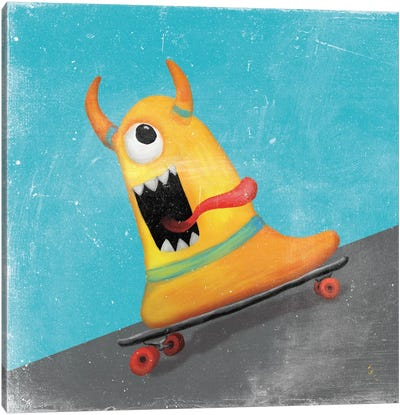 Xtreme Monsters IV Canvas Art Print