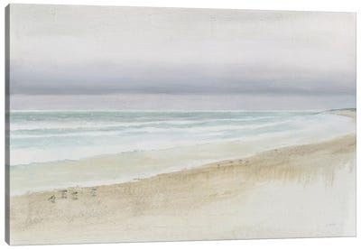 Serene Seaside Canvas Art Print