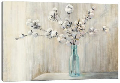 Cotton Bouquet Canvas Art Print