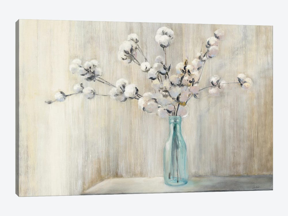 Cotton Bouquet by Julia Purinton 1-piece Canvas Wall Art