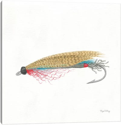 Gone Fishin III Canvas Art Print