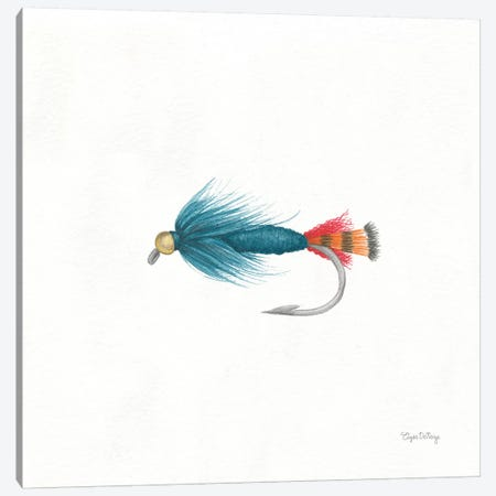 Gone Fishin IX Canvas Print #WAC7057} by Elyse DeNeige Canvas Print