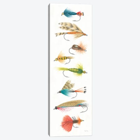 Gone Fishin X Canvas Print #WAC7058} by Elyse DeNeige Canvas Artwork