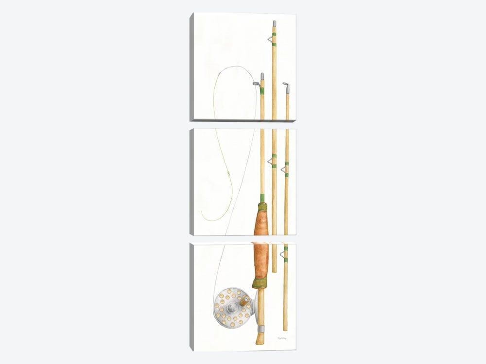 Gone Fishin XI by Elyse DeNeige 3-piece Canvas Art