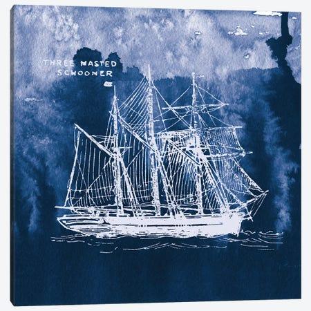 Sailing Ships II Canvas Print #WAC7070} by Wild Apple Portfolio Canvas Artwork