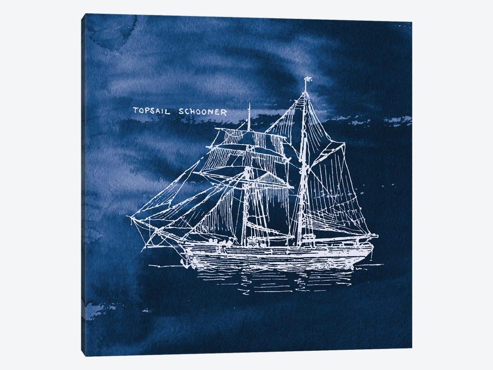 Sailing Ships V by Wild Apple Portfolio 1-piece Canvas Artwork