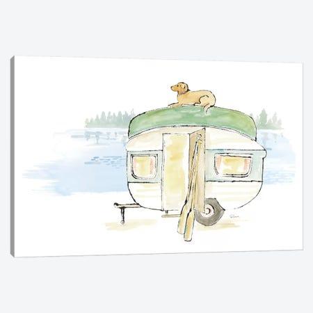 Lakeside Days II Canvas Print #WAC7085} by Sue Schlabach Canvas Artwork