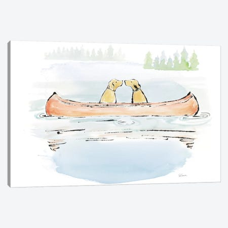 Lakeside Days IV Canvas Print #WAC7087} by Sue Schlabach Canvas Wall Art