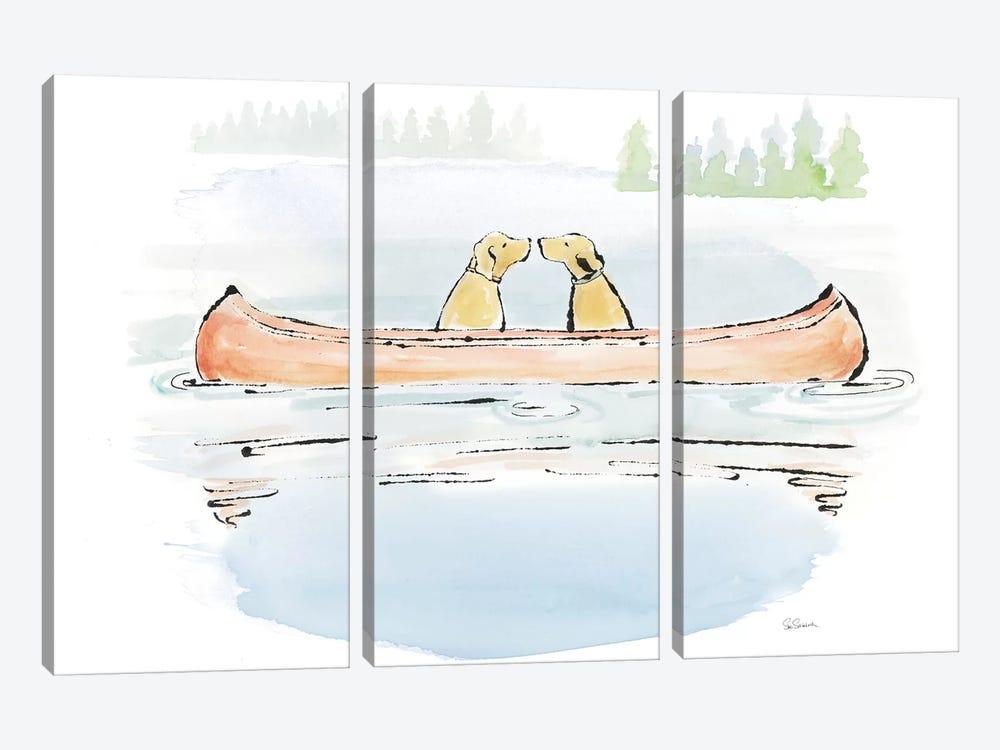 Lakeside Days IV by Sue Schlabach 3-piece Canvas Art Print