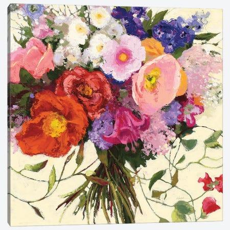Bouquet de Printemps Canvas Print #WAC7088} by Shirley Novak Canvas Print