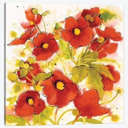 Wild Meadow II Canvas Print #WAC7092} by Shirley Novak Canvas Wall Art