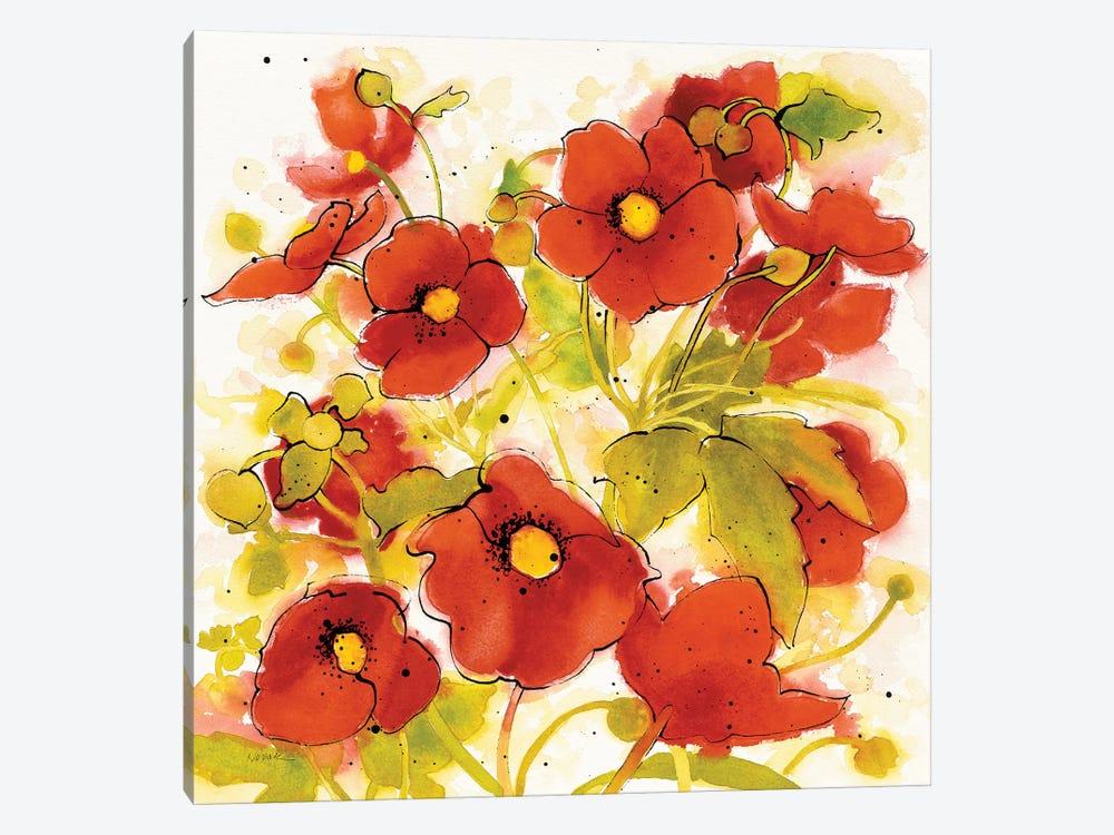 Wild Meadow II by Shirley Novak 1-piece Canvas Print