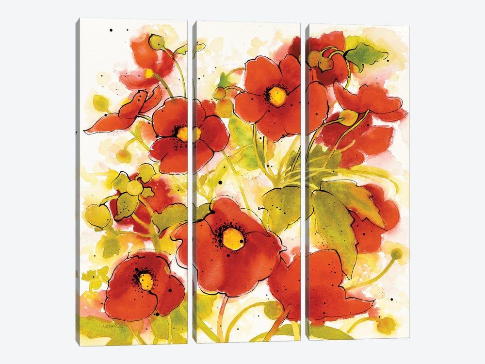 Wild Meadow II by Shirley Novak 3-piece Art Print