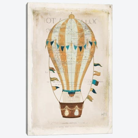 Balloon Expo III Canvas Print #WAC7096} by Katie Pertiet Art Print
