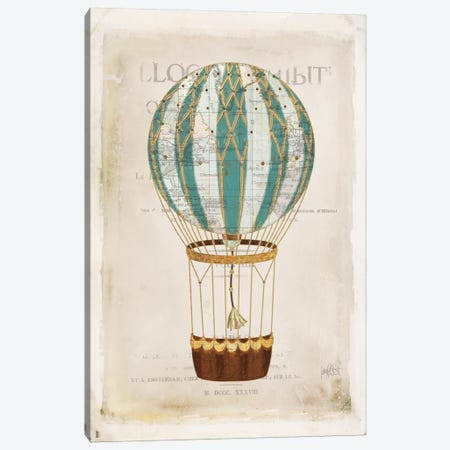 Balloon Expo V Canvas Print #WAC7098} by Katie Pertiet Canvas Artwork