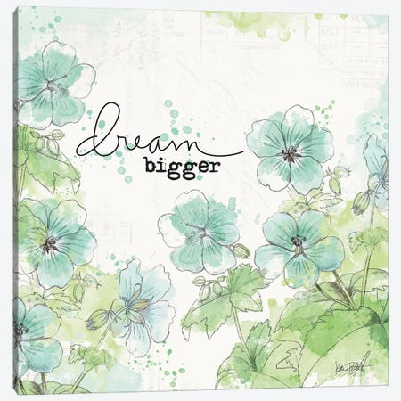 Dream And Faith I Canvas Print #WAC7104} by Katie Pertiet Canvas Print